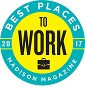 best places to work, 2017, Madison Magazine logo