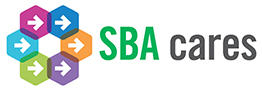 SBA Cares Logo