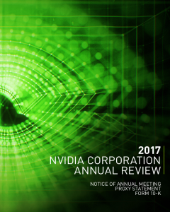 NVIDIA Corporation - Financial Info - Annual Reports and Proxies