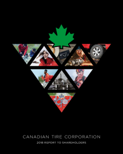 Canadian Tire Corporation Limited Investors Financial Reporting Annual Disclosures