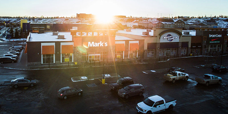 marks store exterior